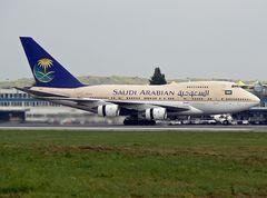 Saudi Arabian Boeing 747 SP