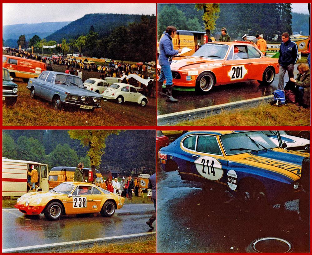 Sauerland-Bergpreis - Nuttlar Bergrennen 70èr # 3 - 07.10. 1973 (danke an Harold Schwarz)