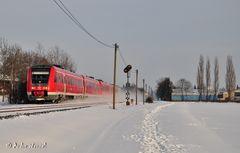 Sauerlandexpress im Schnee