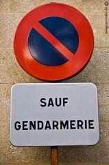 Sauf Gendarmerie