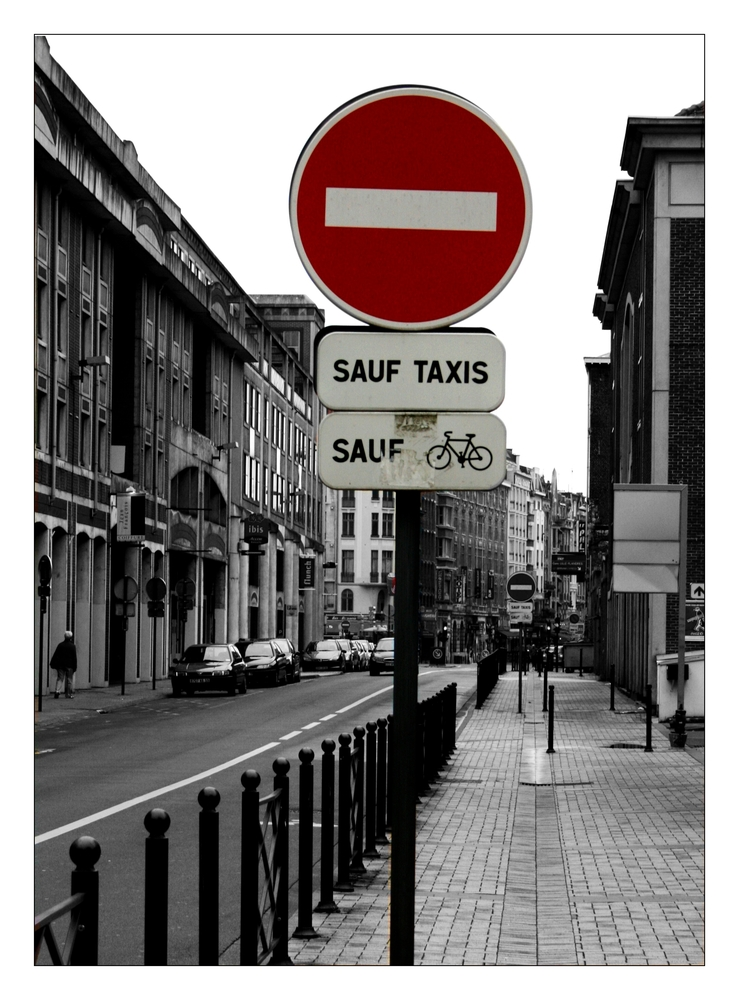 *Sauf Taxis*