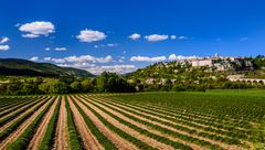 Sault, Vaucluse, Provence, Frankreich