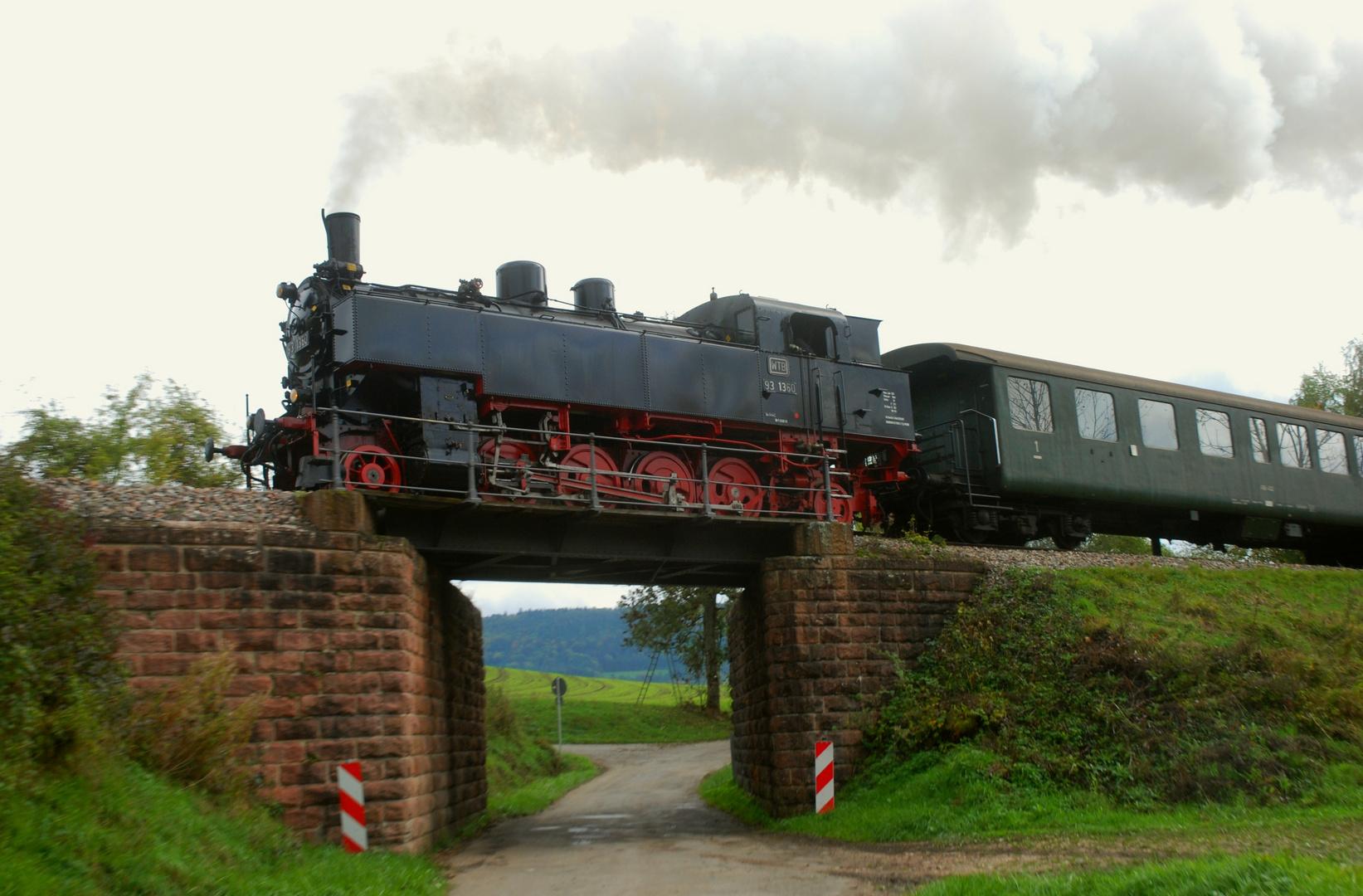 Sauschwänzlebahn: 93 1360, ex BBÖ 378.60