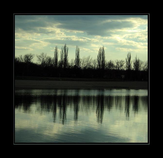 sava river sunset