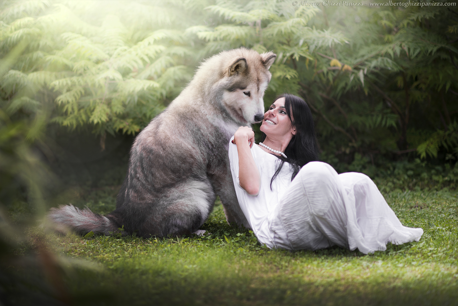 Saved by the wolf
