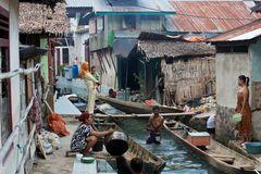 Sawai Dorf Molukken Insel Seram