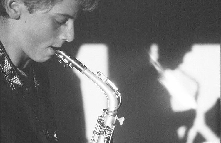 sax player / Marburger Leut'