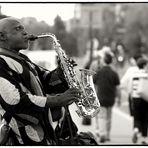 Saxo dans la ville