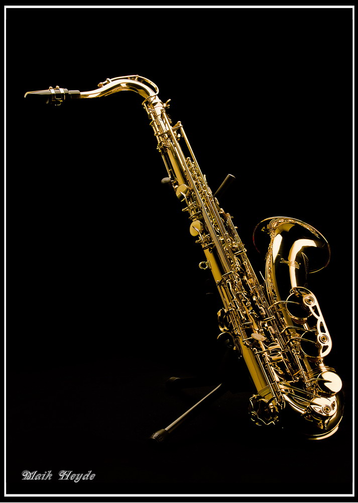 Saxophon...