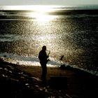 Saxophon am Meer