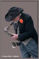 Saxophon-Man
