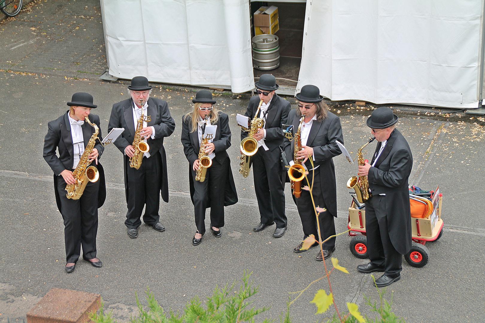 Saxophonbande
