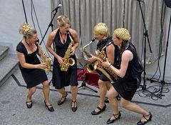 Saxophonquartett sistergold