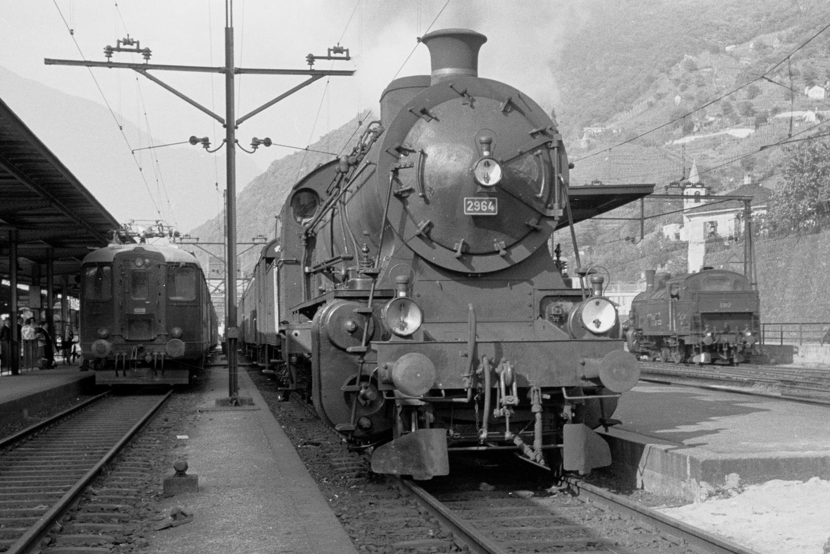 SBB C 5-6 Nr. 2964 Bellinzona ca.1960