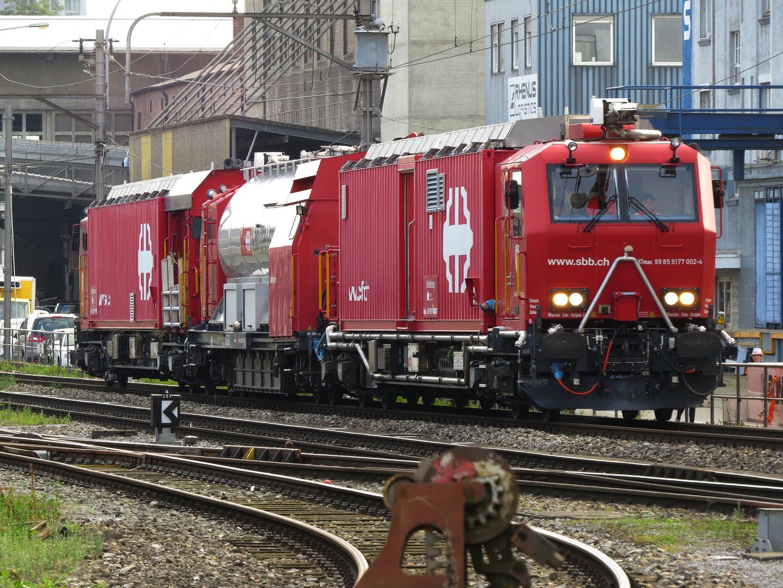 SBB Feuerwehrzug Basel