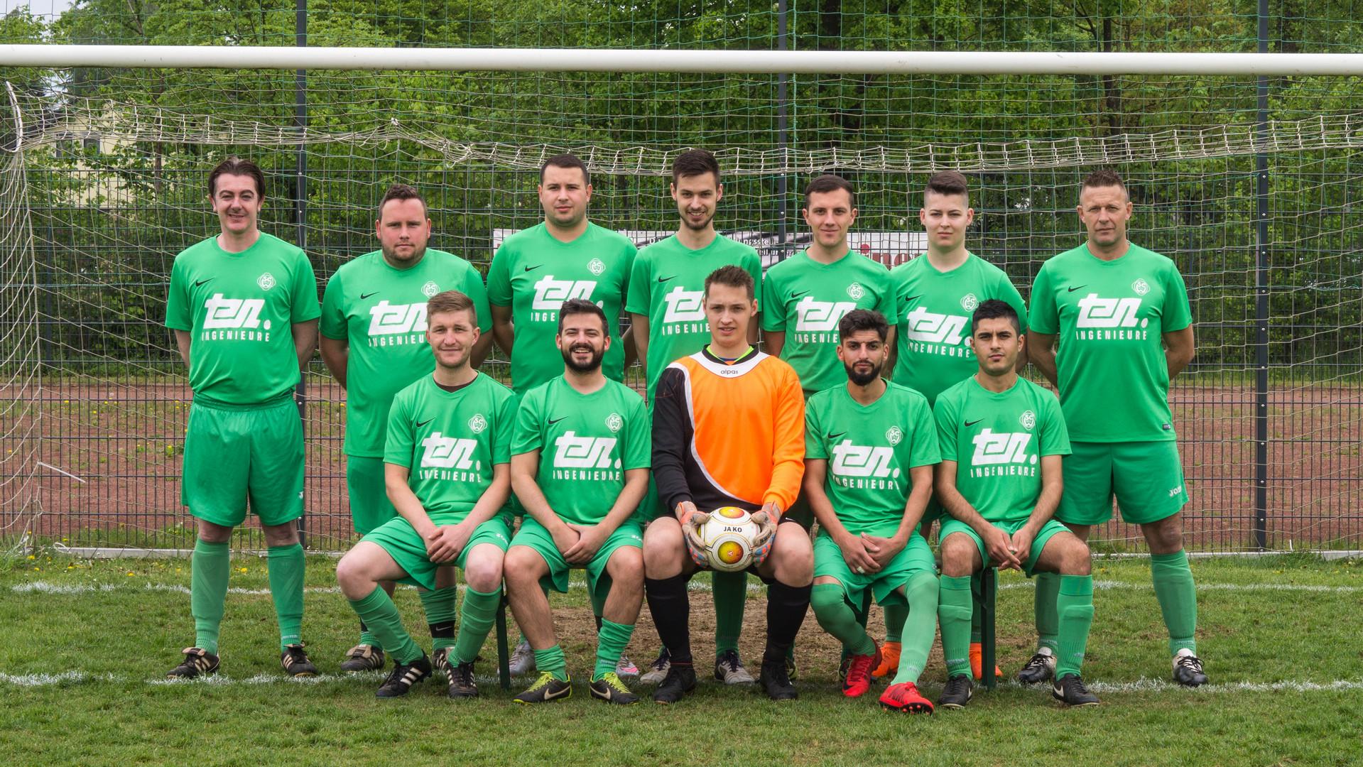 SC Wegberg 2. Mannschaft in neuen Trikots