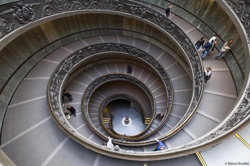 Scalinata Musei Vaticani - Roma 2009