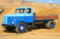 Scania in Two-Tone Blue