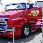 Scania LKW Cabrio