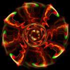 Scanno-Taschenlampografie 9 - Feuerrad V2
