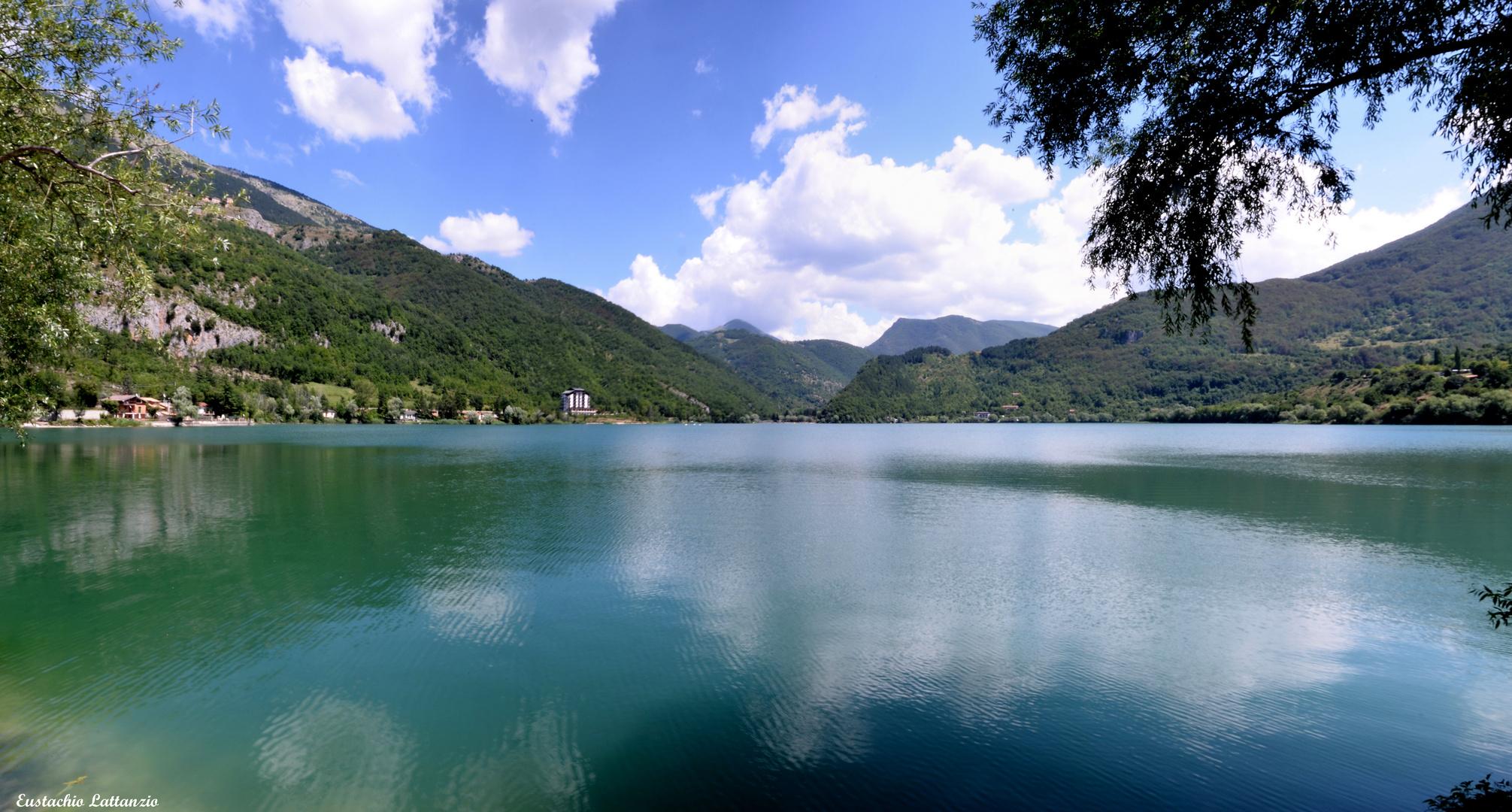 SCANNO....il lago in...tre scatti...