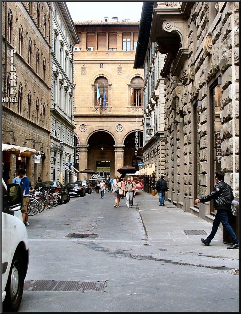 Scattando a Firenze