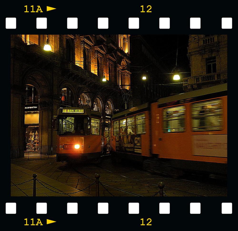 Scatto notturno: la città non si ferma mai
