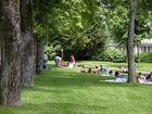 scene champetre jardin de blossac Poitiers