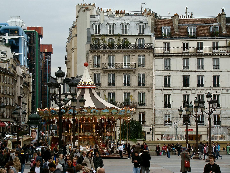 Scène de vie à Paris ...