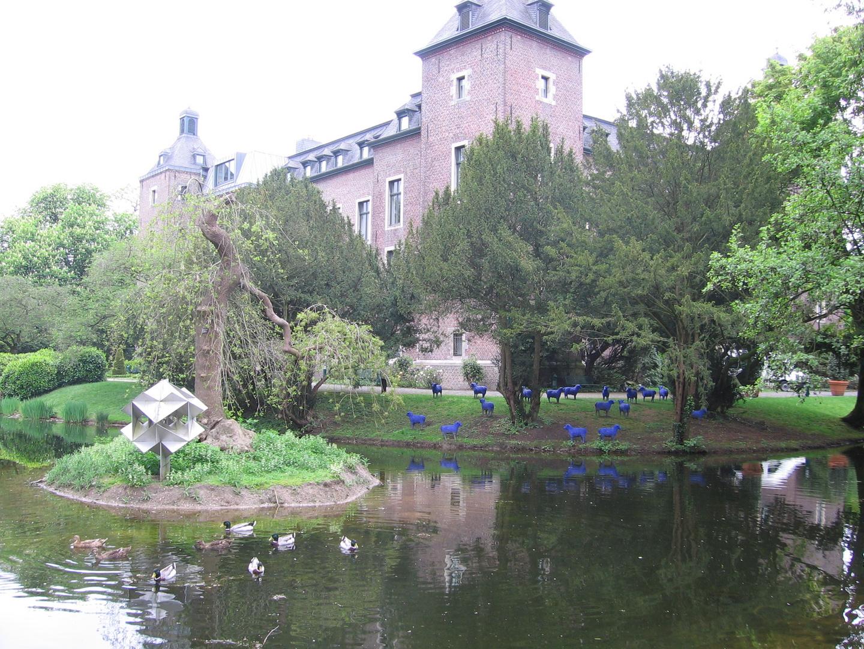 Schaafe in Schloss Neersen