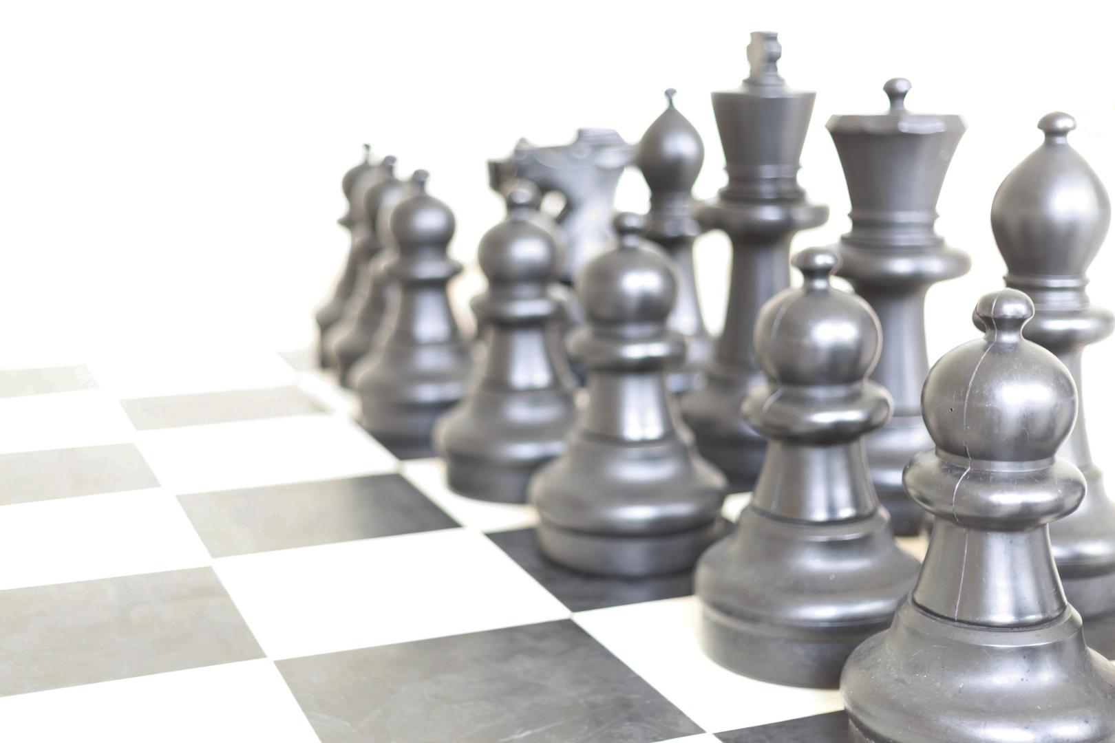 Schach - aber nicht matt