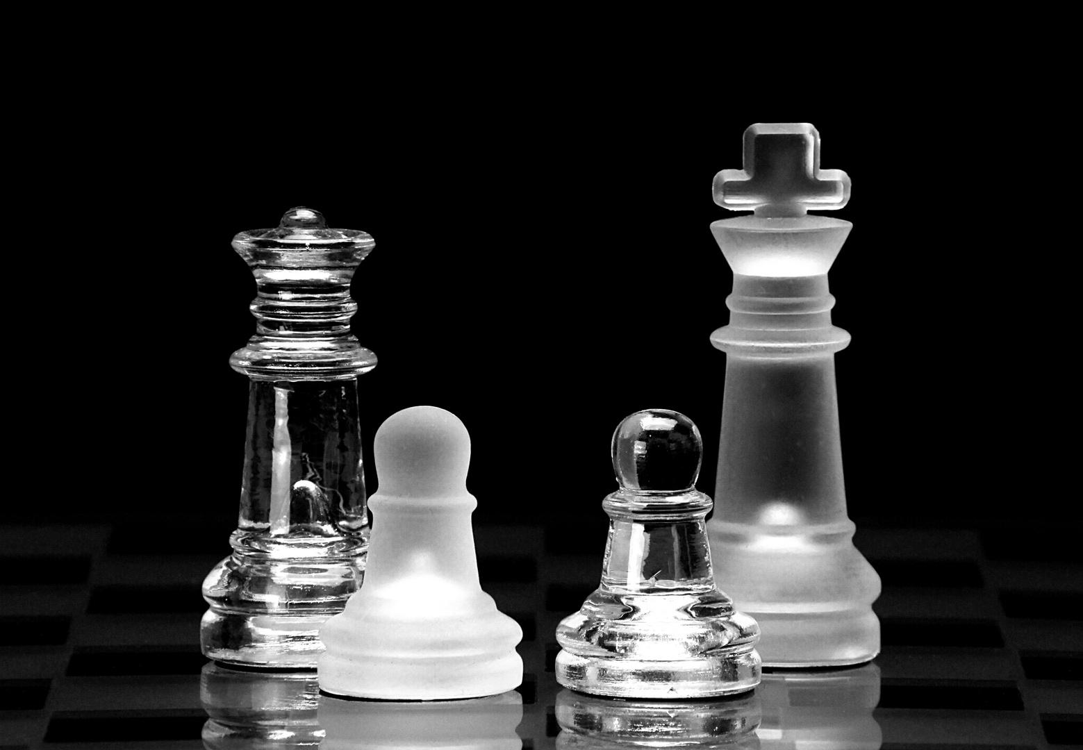 Schachfiguren: Multikulti