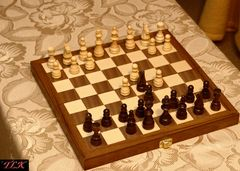 Schachspiel für unterwegs