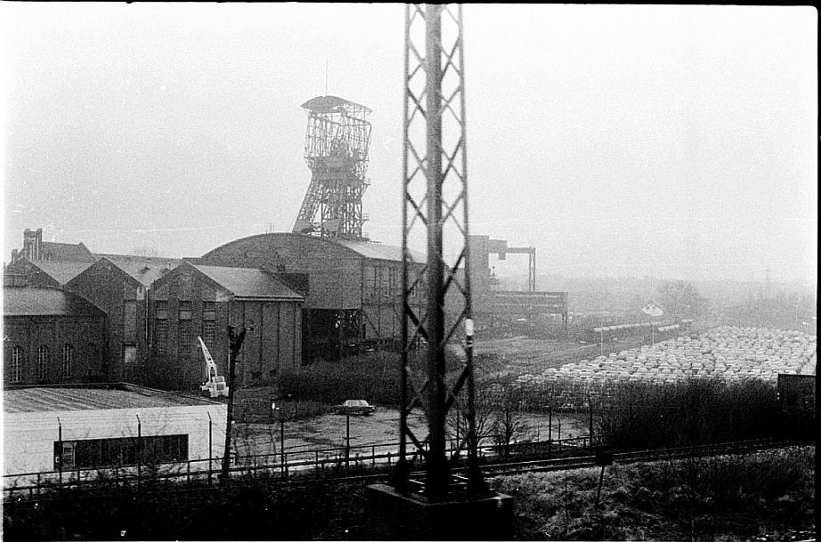 Schacht 1 Bonifazius Kleinzeche 1976 bei Essen-Kray