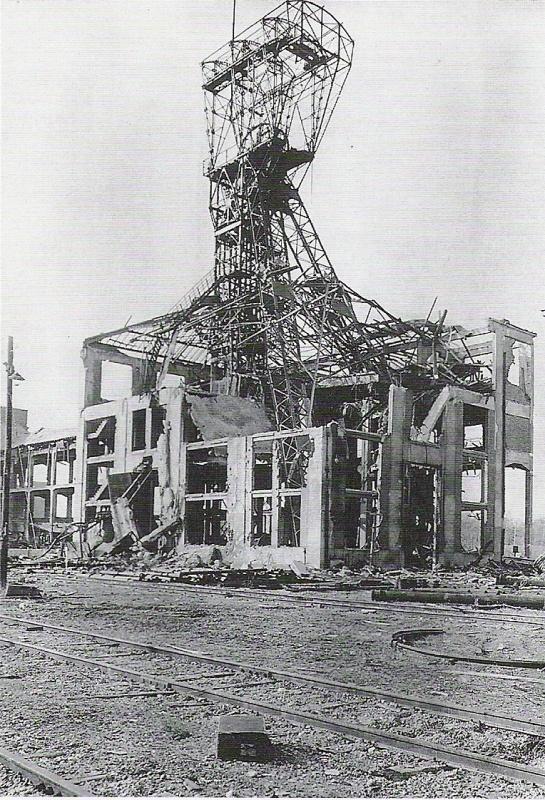 Schacht Anna Ost 1945