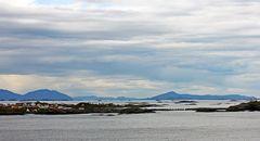 Schäreninseln in Nordnorwegen