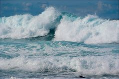 Schäumender Atlantic