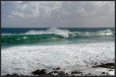 Schäumendes Meer