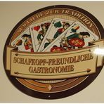Schafkopf-Freundliche Gastronomie