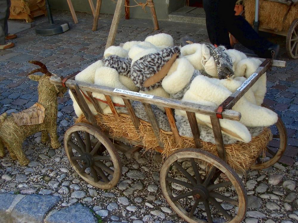 Schafwollschühchens.....