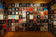 Schallplattensammlung......