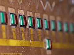 Schalttafel auf Zollverein