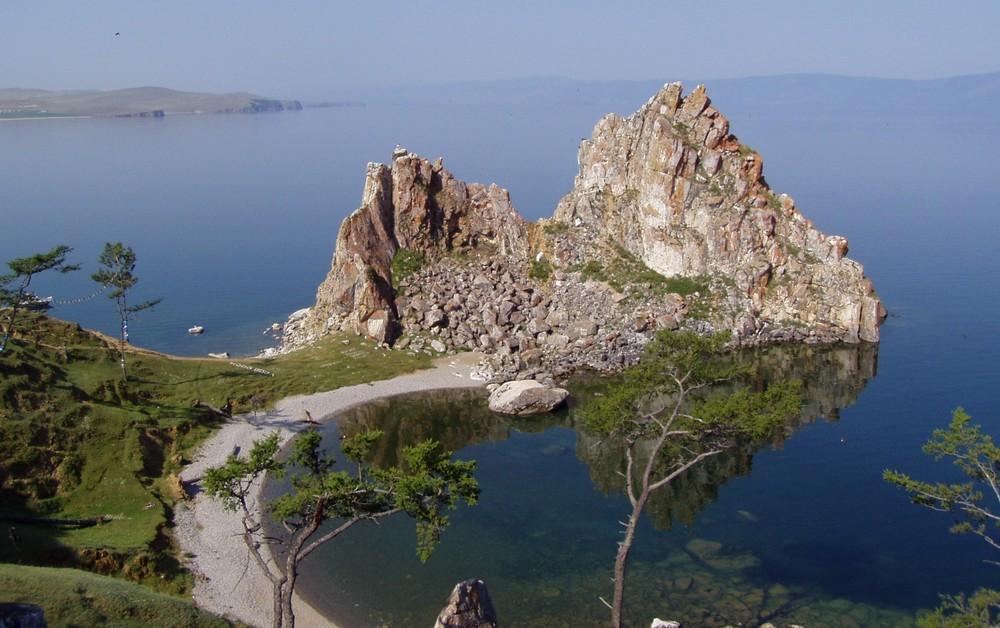 Schamanenfelsen Baikalsee