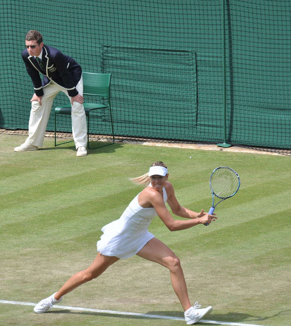 Scharapowa in Wimbledon 2011