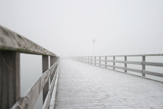 Scharbeutz im Nebel