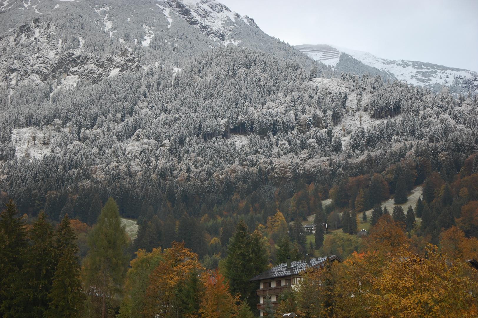 Scharfe Schneefallgrenze...
