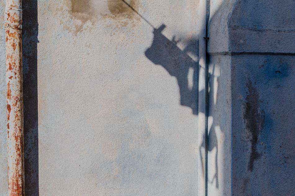 Schatten an der Wand