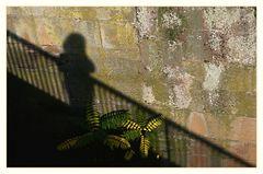 Schatten an der Wand..