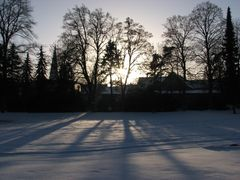 Schatten - im Burggarten Salzwedel