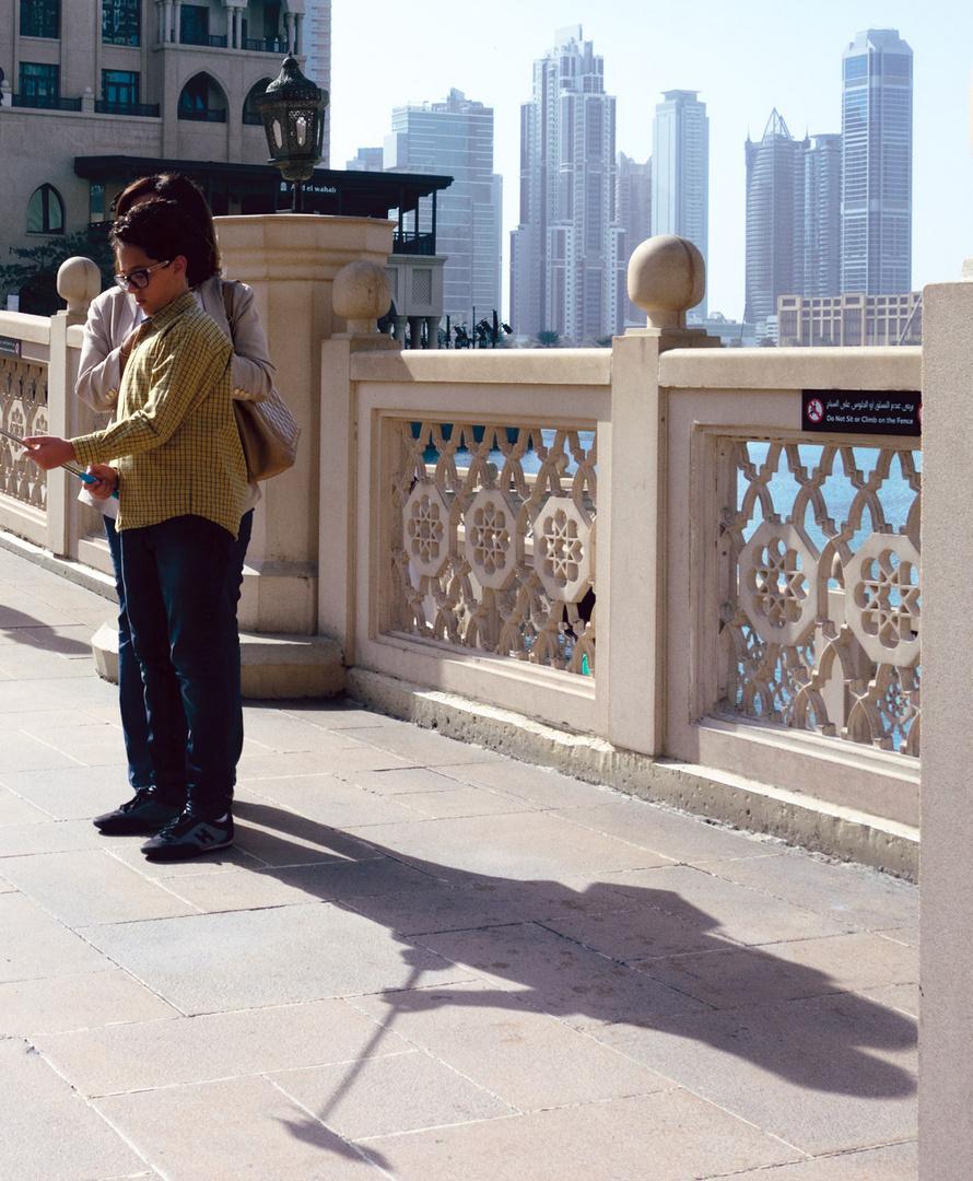 Schatten in Dubai